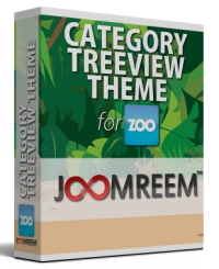 Categories Treeview theme for Zoo Category